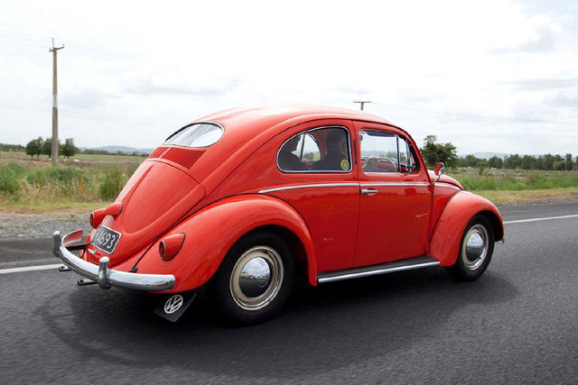 Beetle up to 1957
